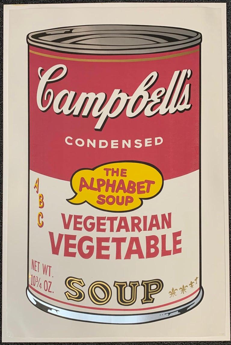 Campbell ́s Soup II (F. & S. II. 54-63 Ten screen prints), 1969 8