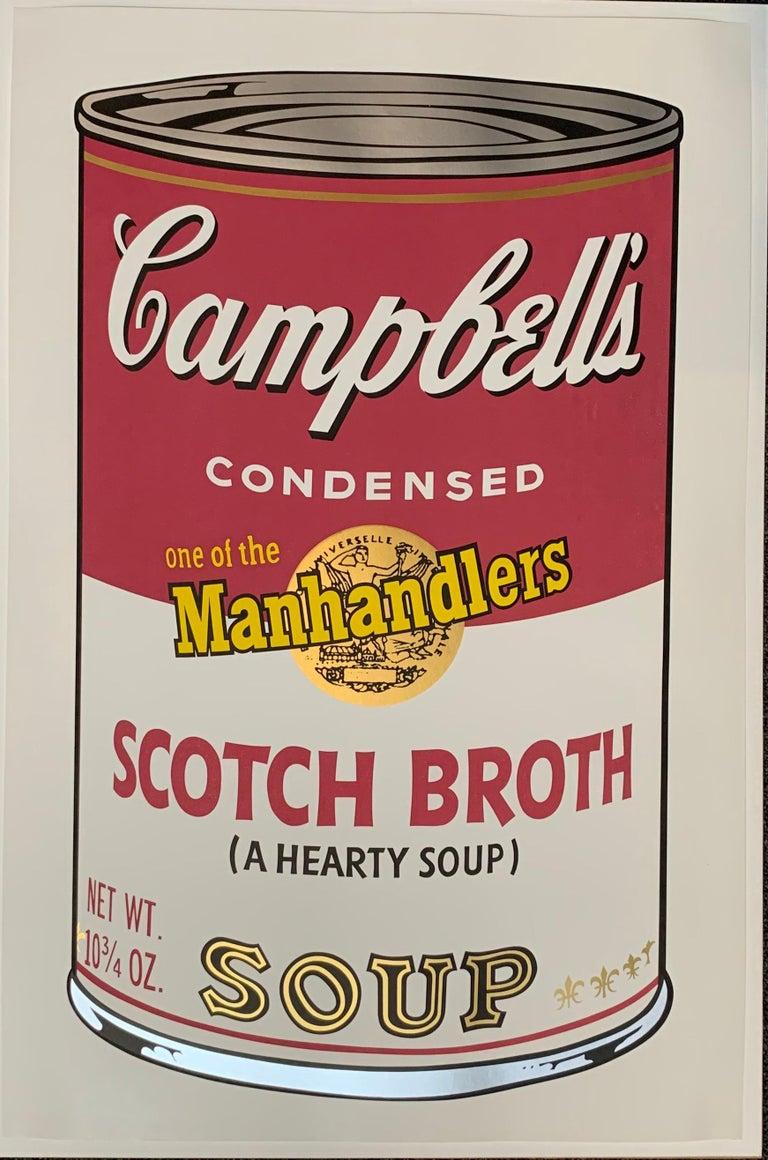 Campbell ́s Soup II (F. & S. II. 54-63 Ten screen prints), 1969 9