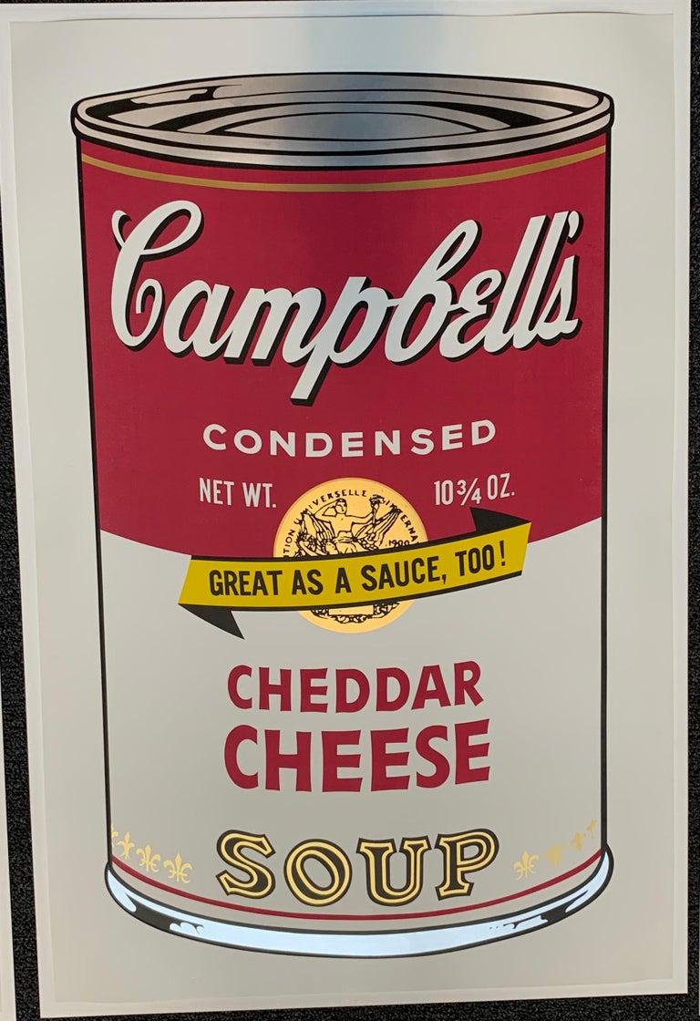 Campbell ́s Soup II (F. & S. II. 54-63 Ten screen prints), 1969 10