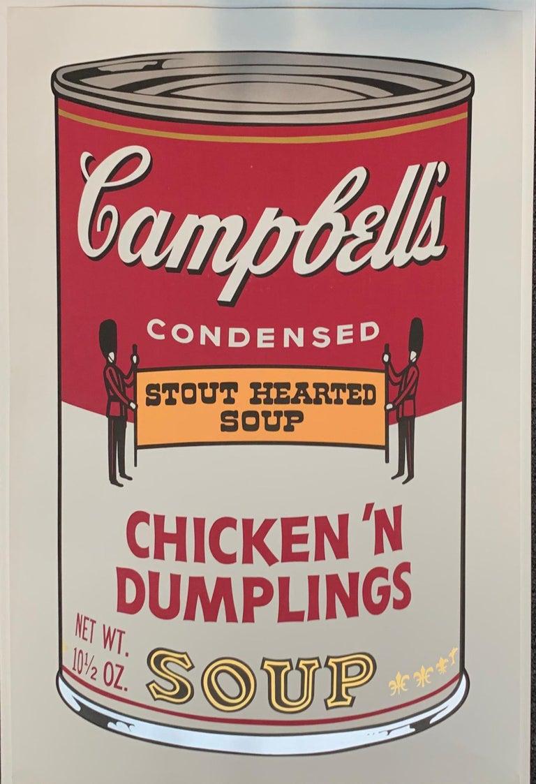 Campbell ́s Soup II (F. & S. II. 54-63 Ten screen prints), 1969 12