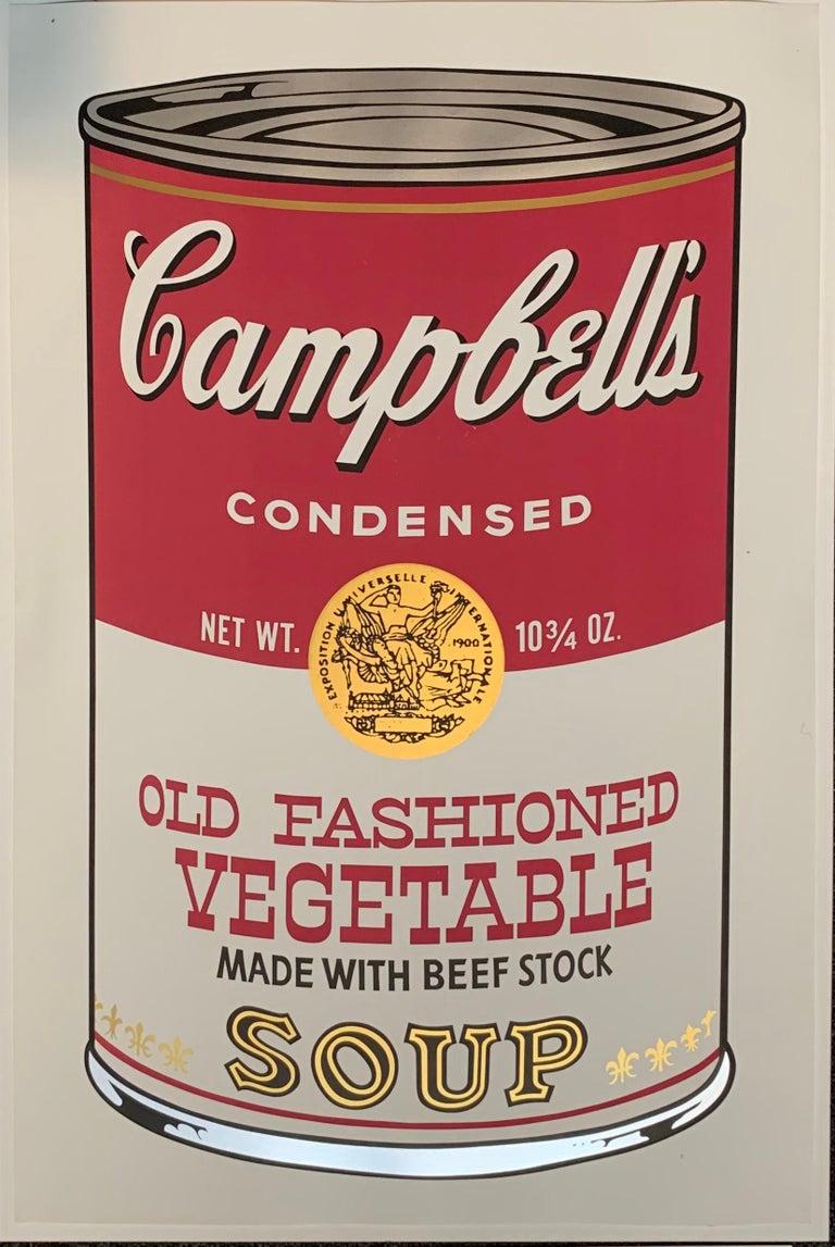Campbell ́s Soup II (F. & S. II. 54-63 Ten screen prints), 1969 13