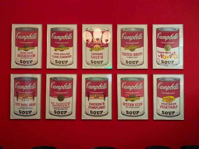 Campbell ́s Soup II (F. & S. II. 54-63 Ten screen prints), 1969 14