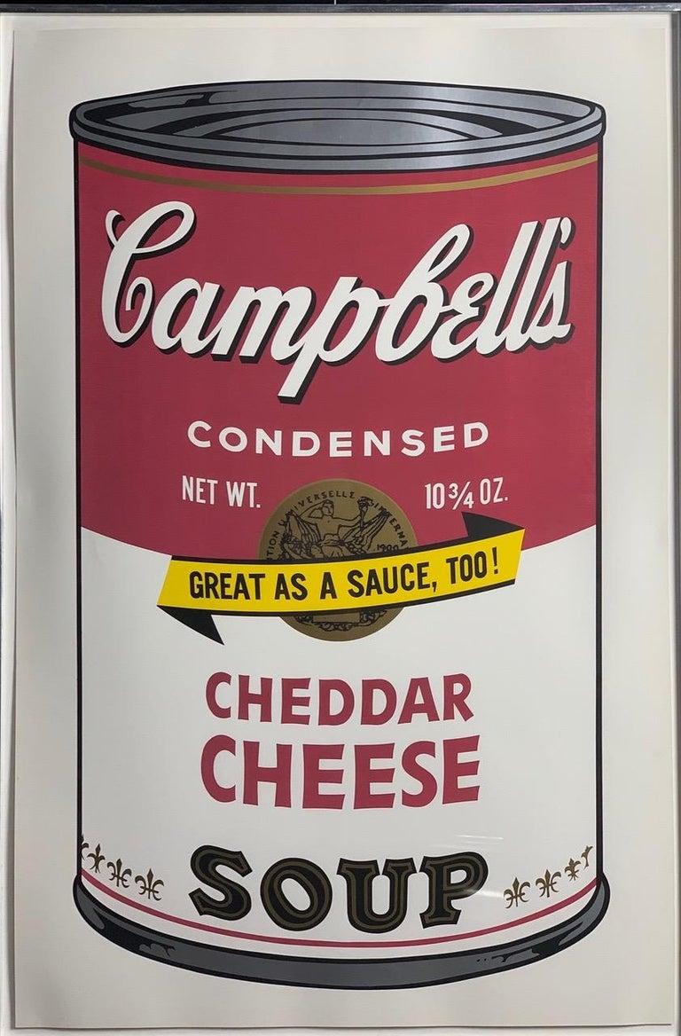 Campbell ́s Soup II (F. & S. II. 54-63 Ten screen prints), 1969 - Pop Art Print by Andy Warhol