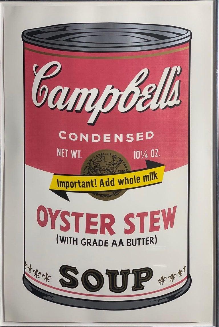 Campbell ́s Soup II (F. & S. II. 54-63 Ten screen prints), 1969 - Gray Print by Andy Warhol