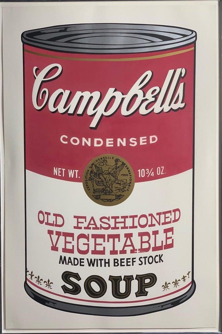 Campbell ́s Soup II (F. & S. II. 54-63 Ten screen prints), 1969 1