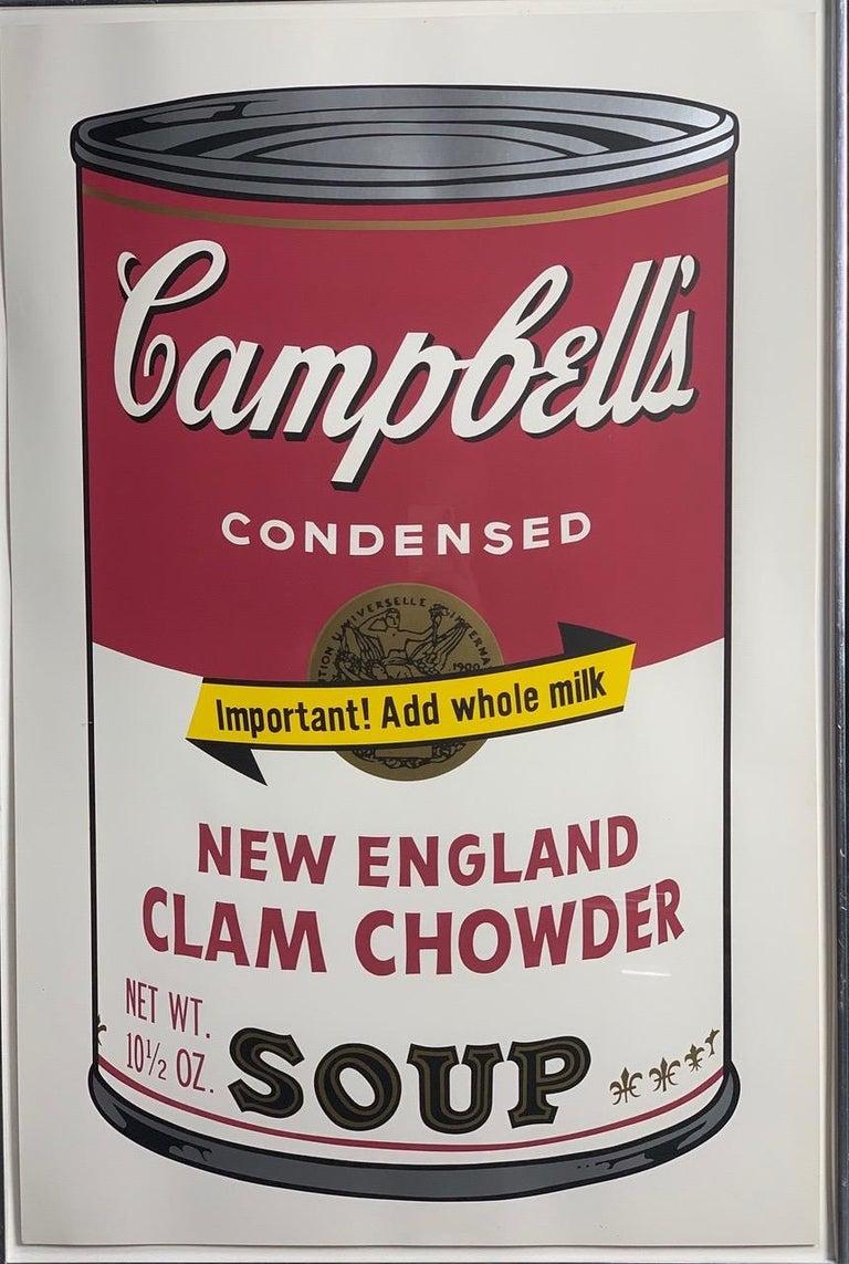 Campbell ́s Soup II (F. & S. II. 54-63 Ten screen prints), 1969 2