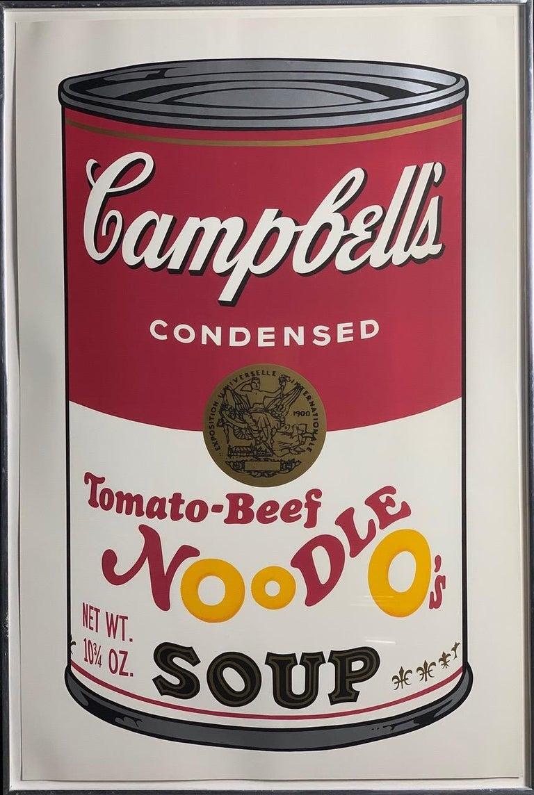 Campbell ́s Soup II (F. & S. II. 54-63 Ten screen prints), 1969 3
