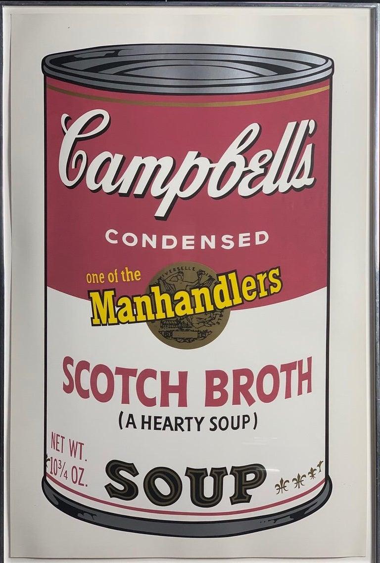 Campbell ́s Soup II (F. & S. II. 54-63 Ten screen prints), 1969 4