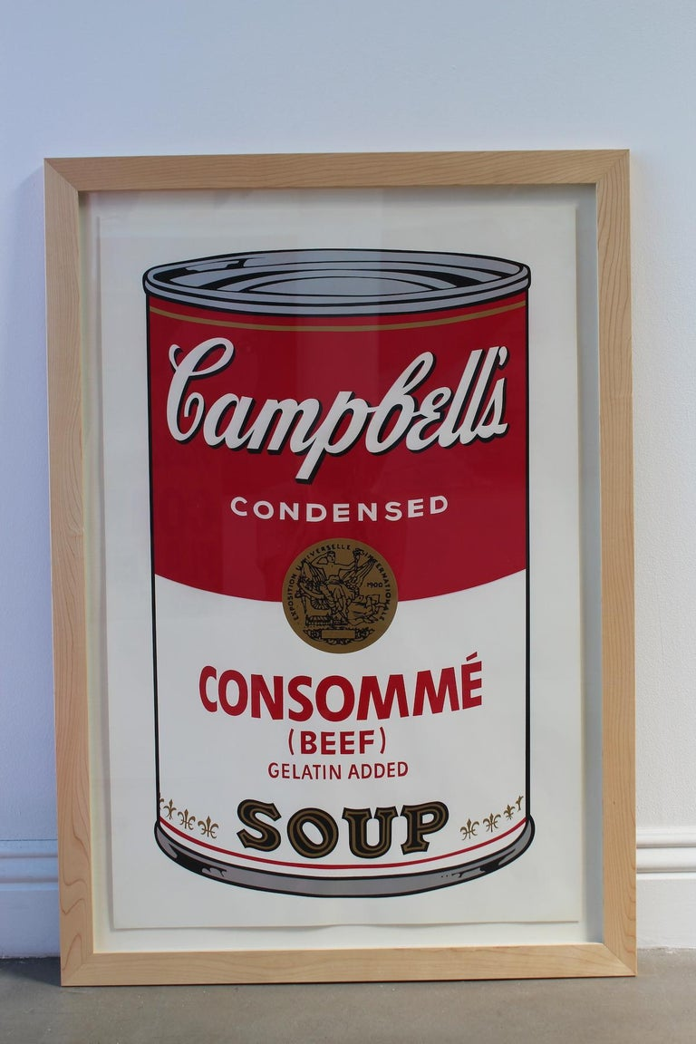 Campbell's Soup: Consommé (FS II.52) - Pop Art Print by Andy Warhol
