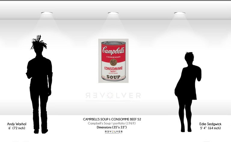 Campbell's Soup: Consommé (FS II.52) For Sale 2