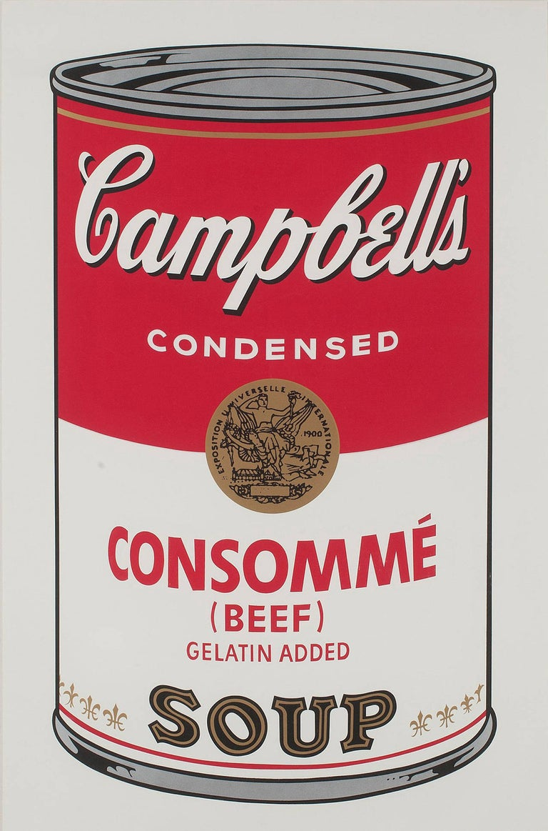 Campbell's Soup: Consommé (FS II.52) - Print by Andy Warhol