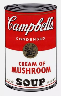 Campbell's Soup, Cream of Mushroom (Sunday B. Morning)