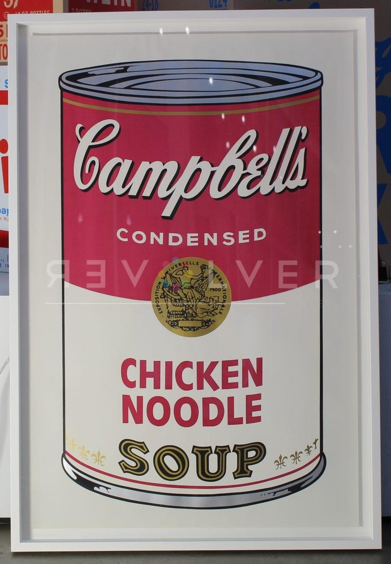 Campbell's Soup I: Chicken Noodle (FS II.45) - Pop Art Print by Andy Warhol