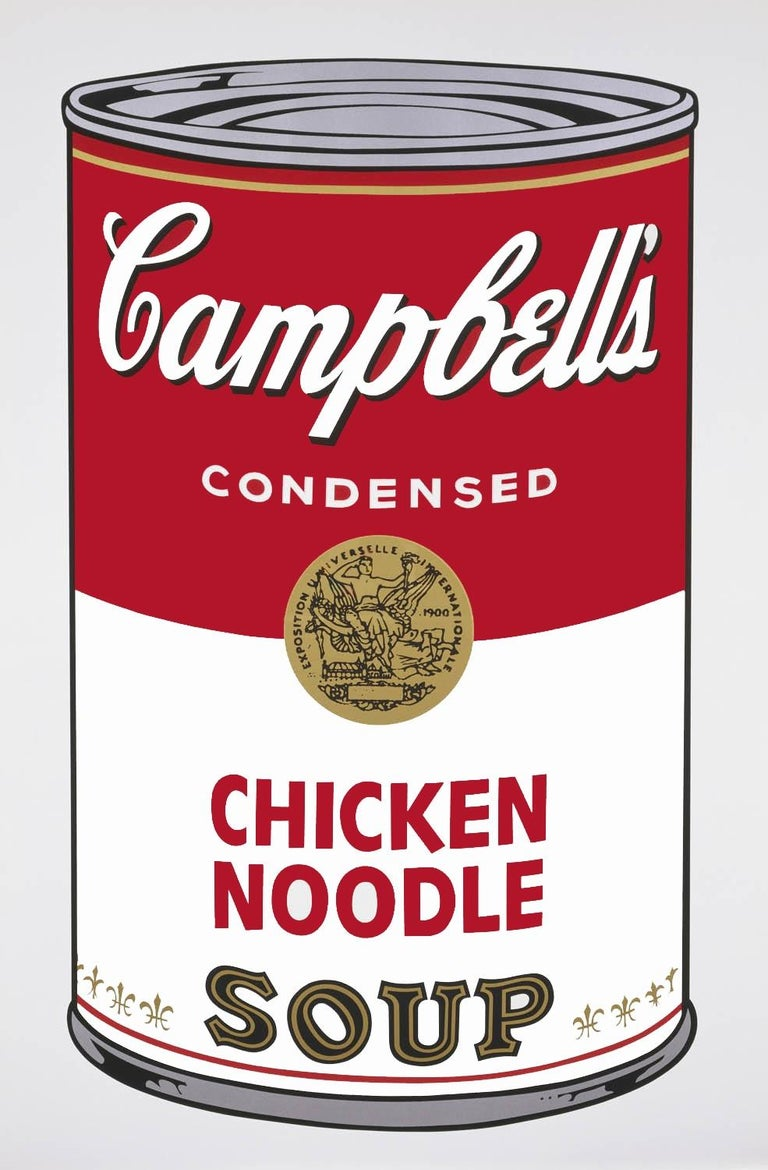 Campbell's Soup I: Chicken Noodle (FS II.45) - Print by Andy Warhol