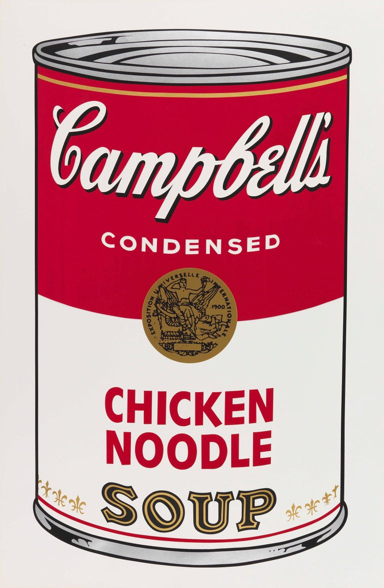 Andy Warhol Print - Campbell's Soup I Chicken Noodle F&S II.45