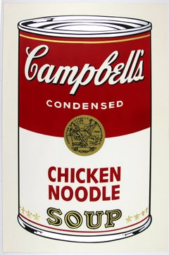 Campbell's Soup I Chicken Noodle F&S II.45
