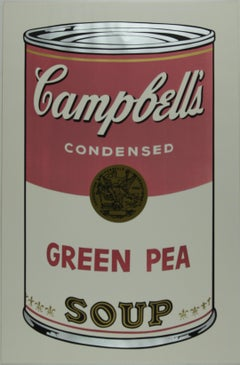 Campbell's Soup I,  Green Pea F&S II.50