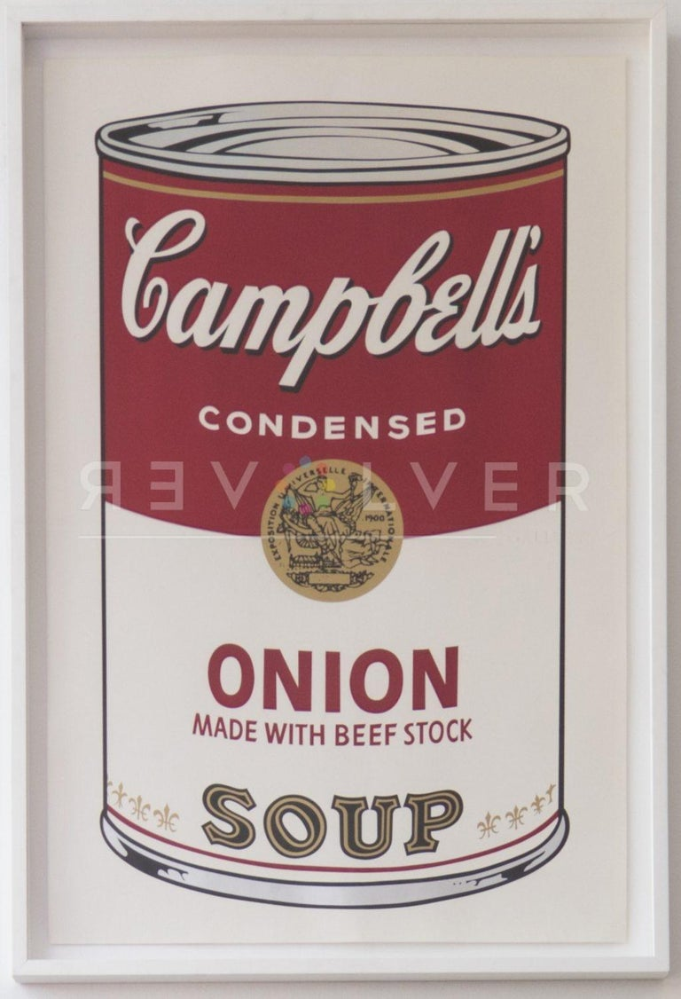 Campbell's Soup I: Onion Made With Beef Stock (FS II.47) - Pop Art Print by Andy Warhol