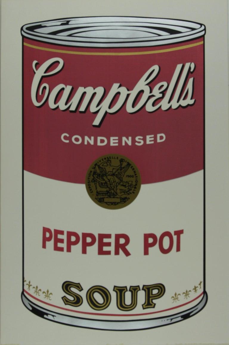 Andy Warhol Print - Campbell's Soup I,  Pepper Pot F&S II.51