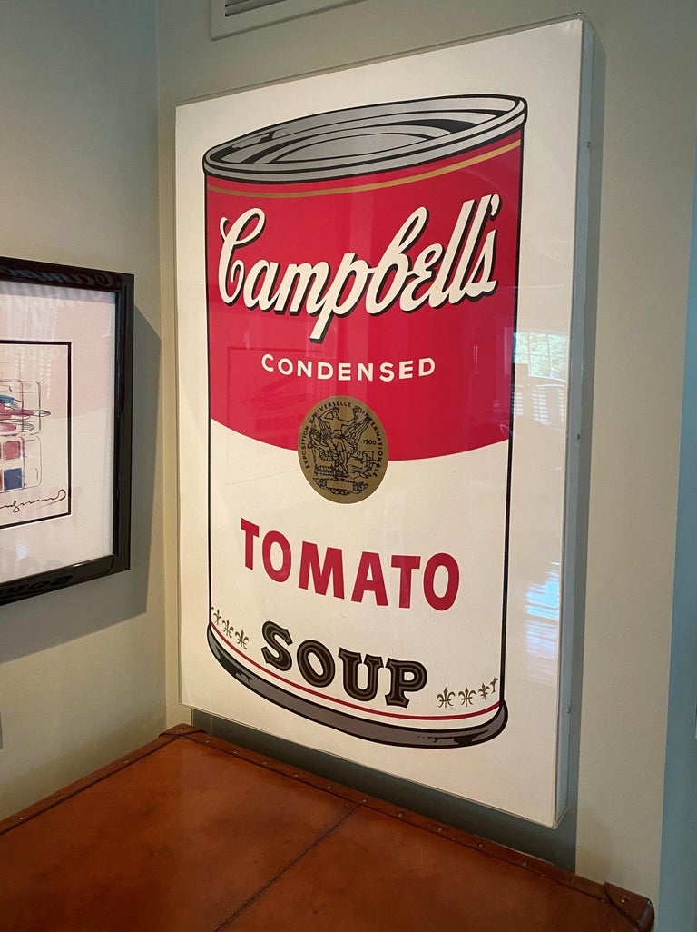 Campbell's Soup I, Tomato F&S II.46 - Print by Andy Warhol
