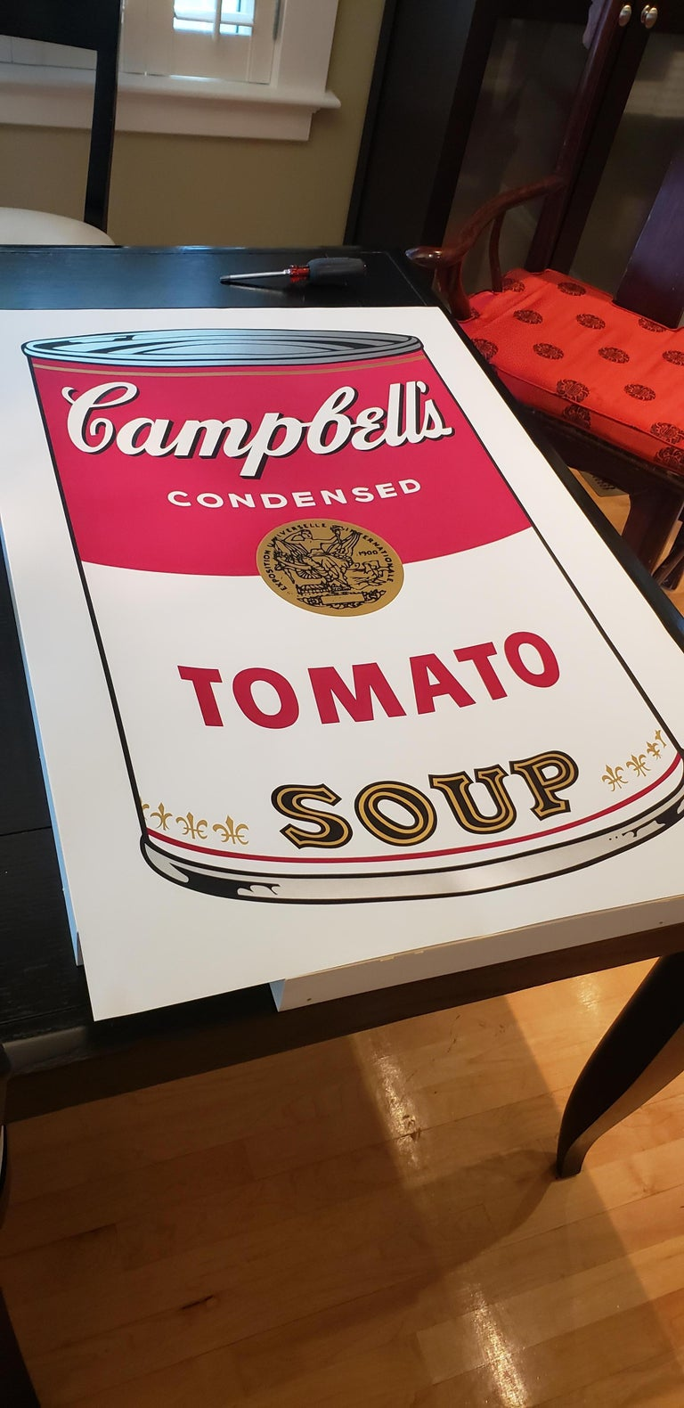 Campbell's Soup I, Tomato F&S II.46 - Contemporary Print by Andy Warhol