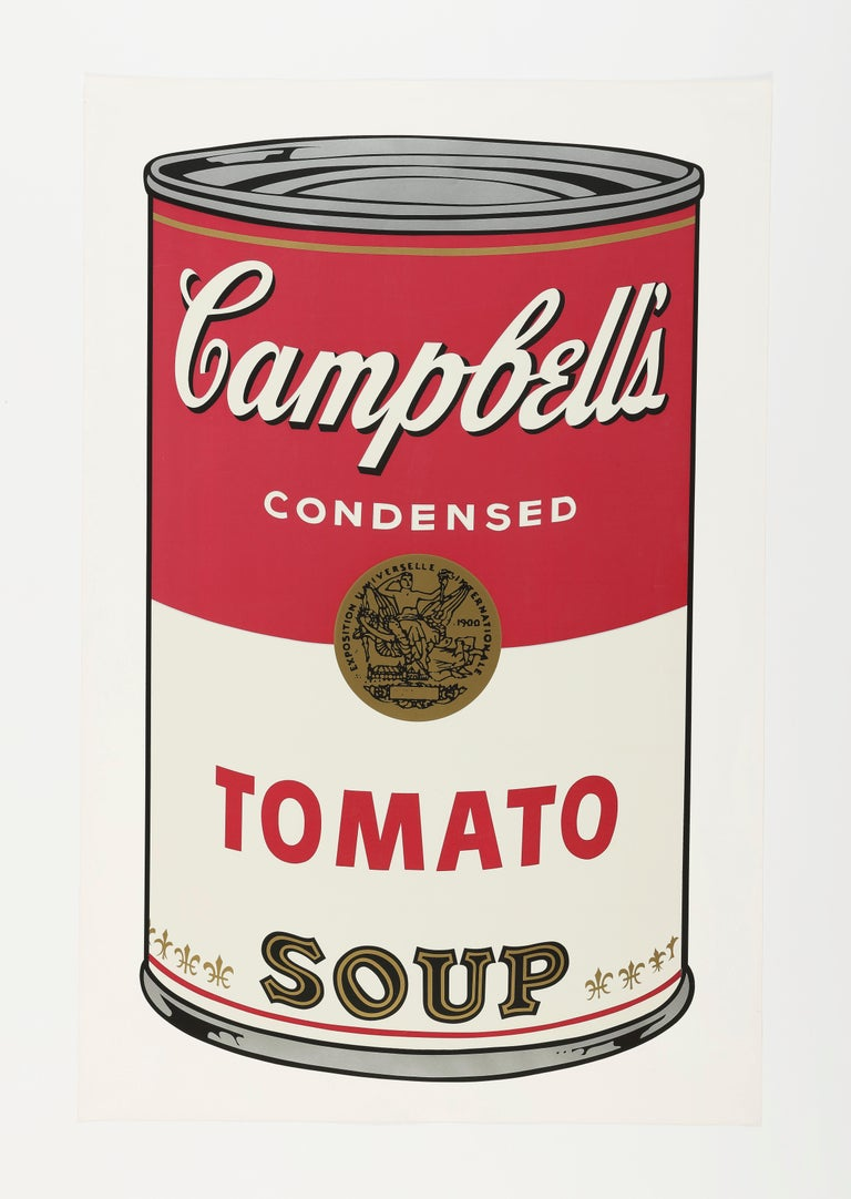 Andy Warhol Print - Campbell's Soup I, Tomato F&S II.46