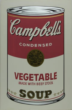 Campbell's Soup I,  Vegetable F&S II.48
