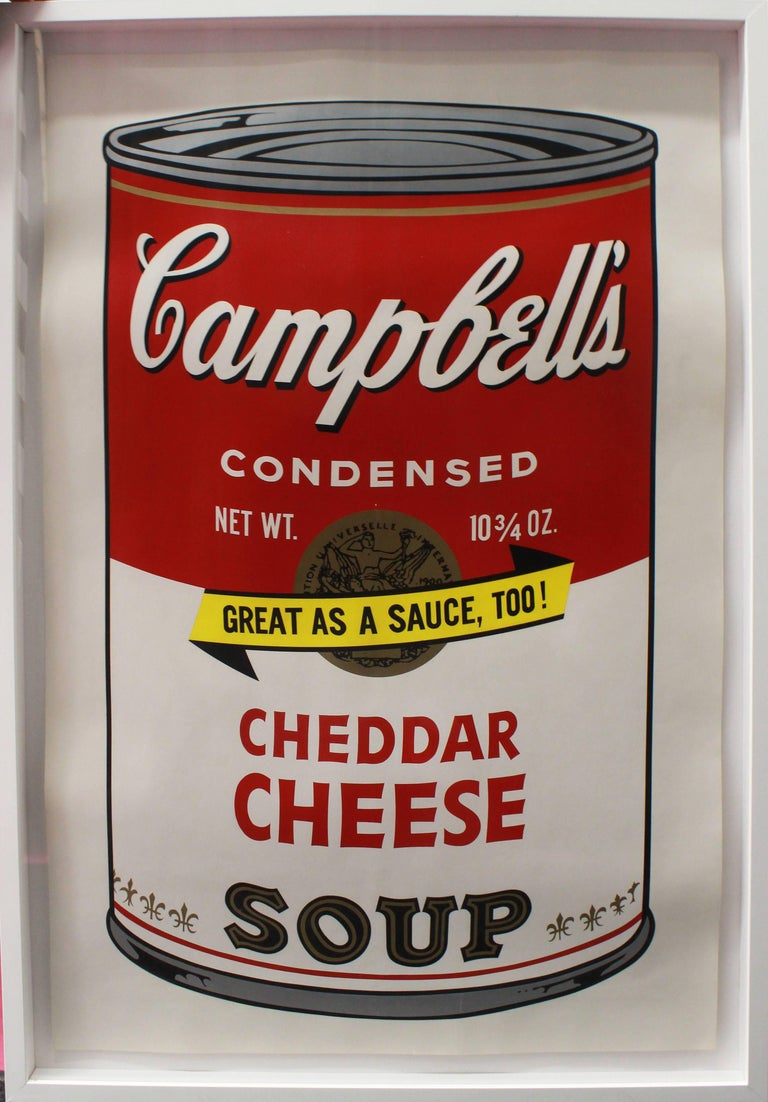 Campbell's Soup II: Cheddar Cheese (FS II.63) - Pop Art Print by Andy Warhol