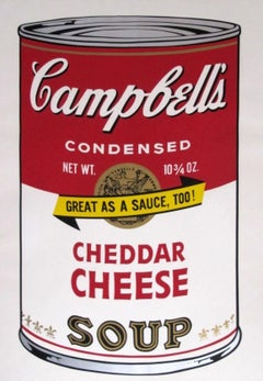 Campbell's Soup II: Cheddar Cheese (FS II.63)