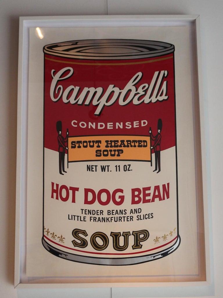 Campbell's Soup II: Hot Dog Bean (FS II.59) - Pop Art Print by Andy Warhol