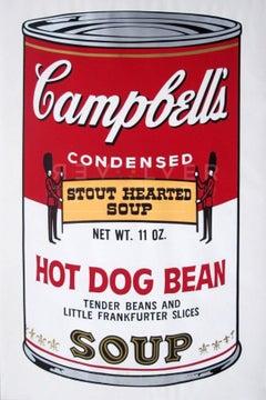 Campbell's Soup II: Hot Dog Bean (FS II.59)