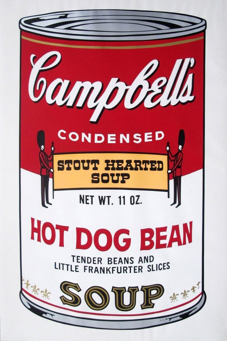 Campbell's Soup II: Hot Dog Bean (FS II.59) - Print by Andy Warhol