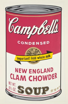 Campbell's Soup II, New England Clam Chowder F&S II.57