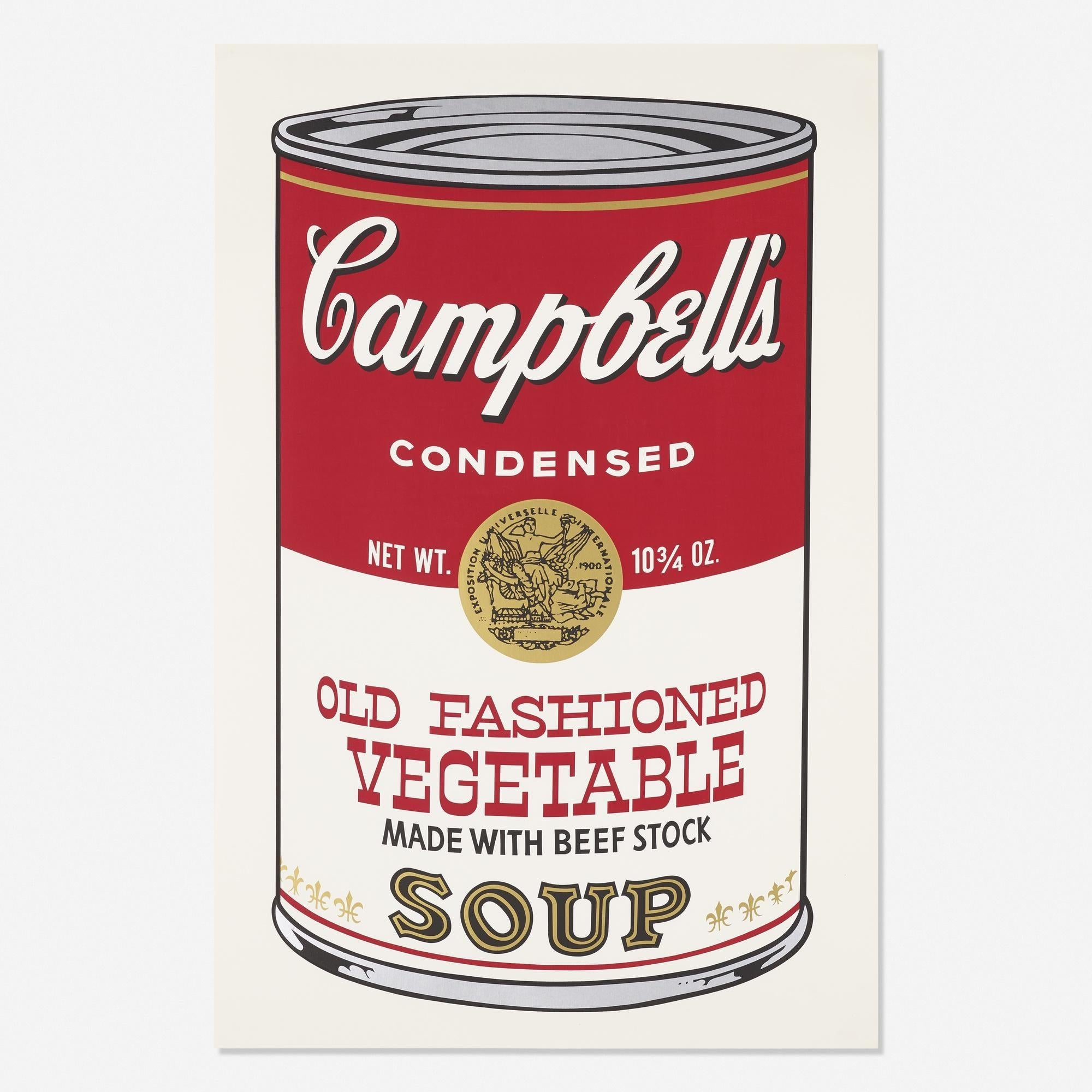 Campbell's Soup II, Old Fashioned Vegetable FS II 54