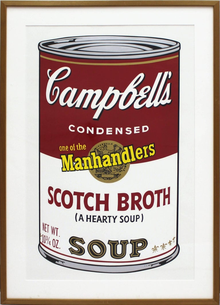 Campbell's Soup II: Scotch Broth (FS II.55) - Print by Andy Warhol