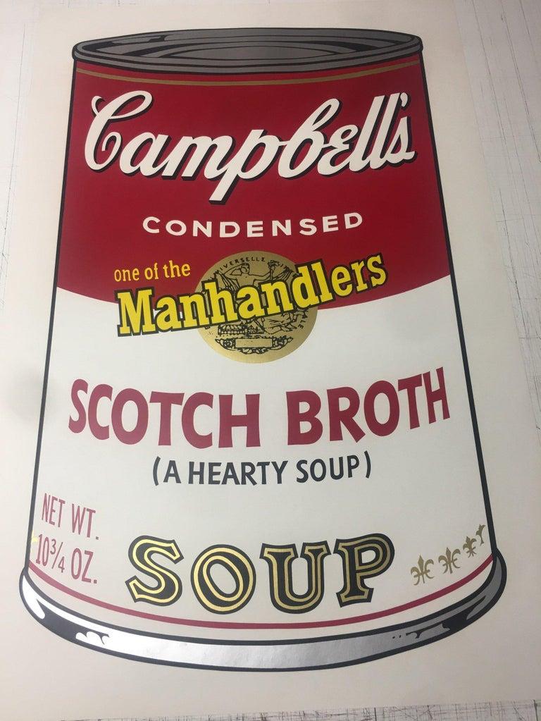 Campbell's Soup II, Scotch Broth F&S II.55 - Print by Andy Warhol