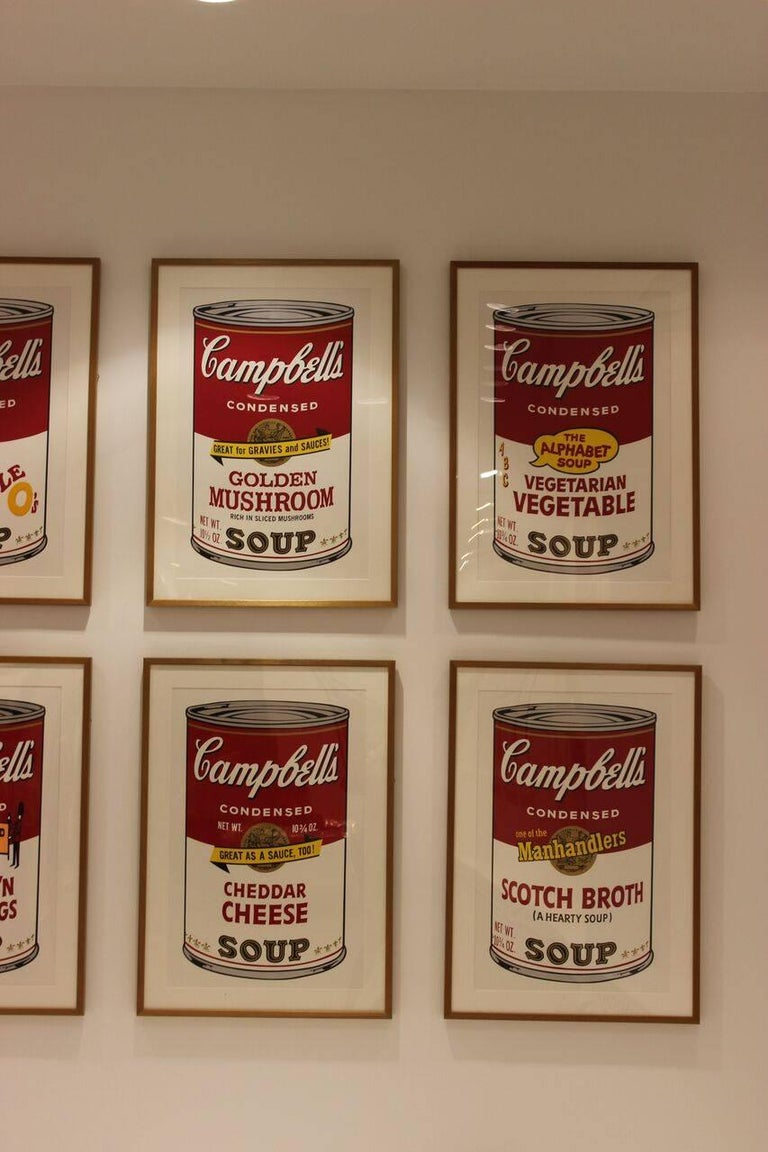 Campbell's Soup II: Scotch Broth (FS II.55) - Beige Print by Andy Warhol