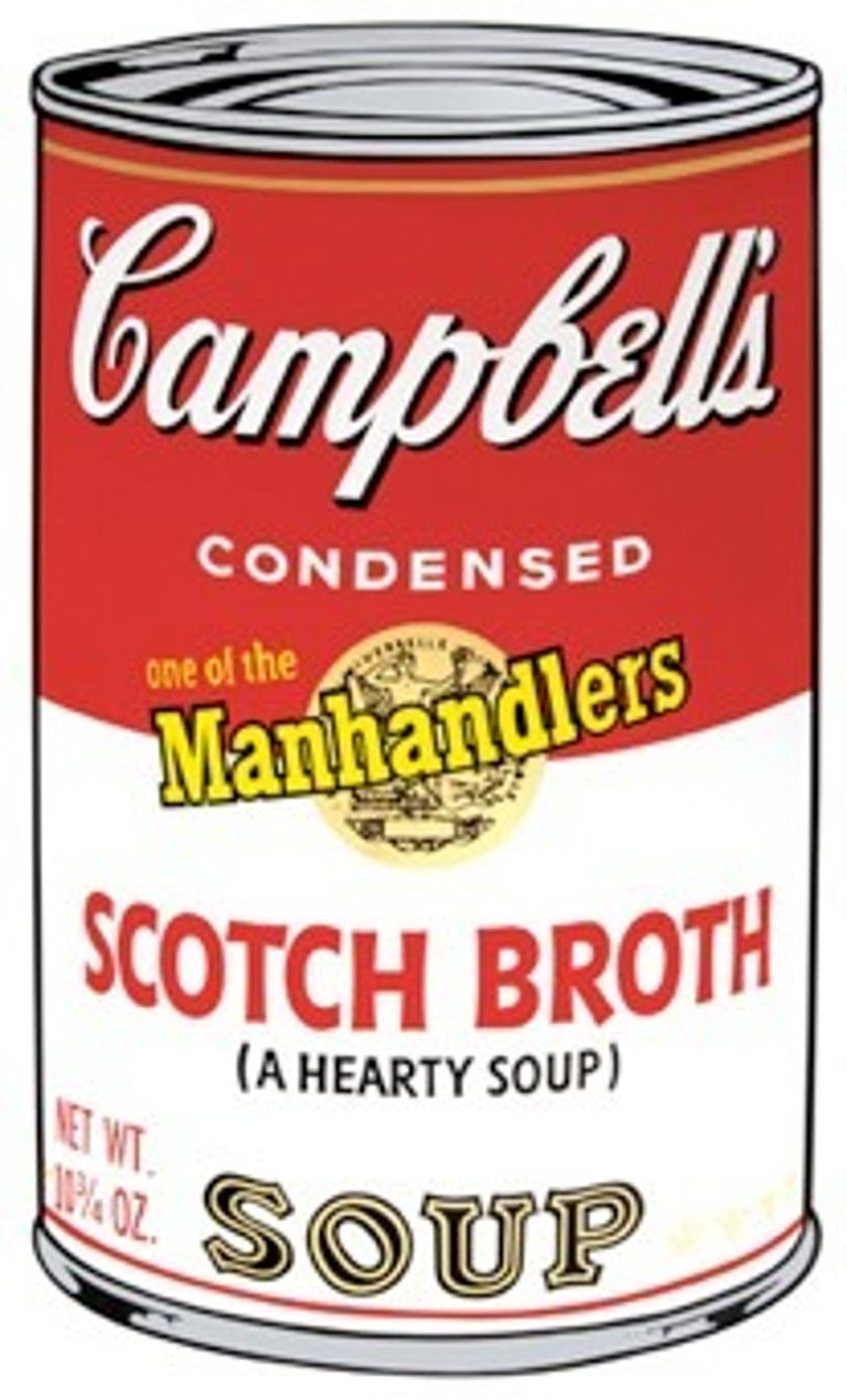 Andy Warhol Print - Campbell's Soup II: Scotch Broth (FS II.55)