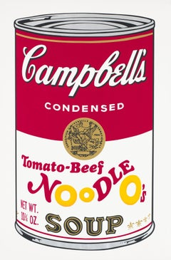 Campbell's Soup II, Tomato-Beef Noodle O's F&S II.61