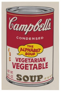 Campbell's Soup II, Vegetarian Vegetable F&S II.56