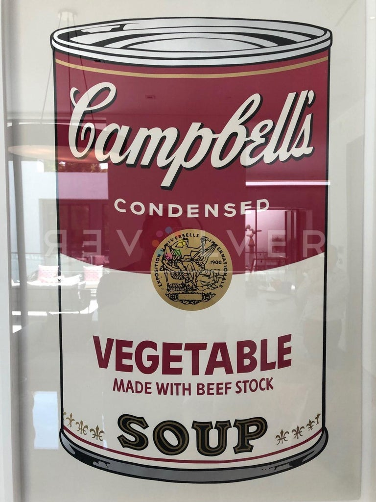 Campbell's Soup: Vegetable (FS II.48) - Pop Art Print by Andy Warhol