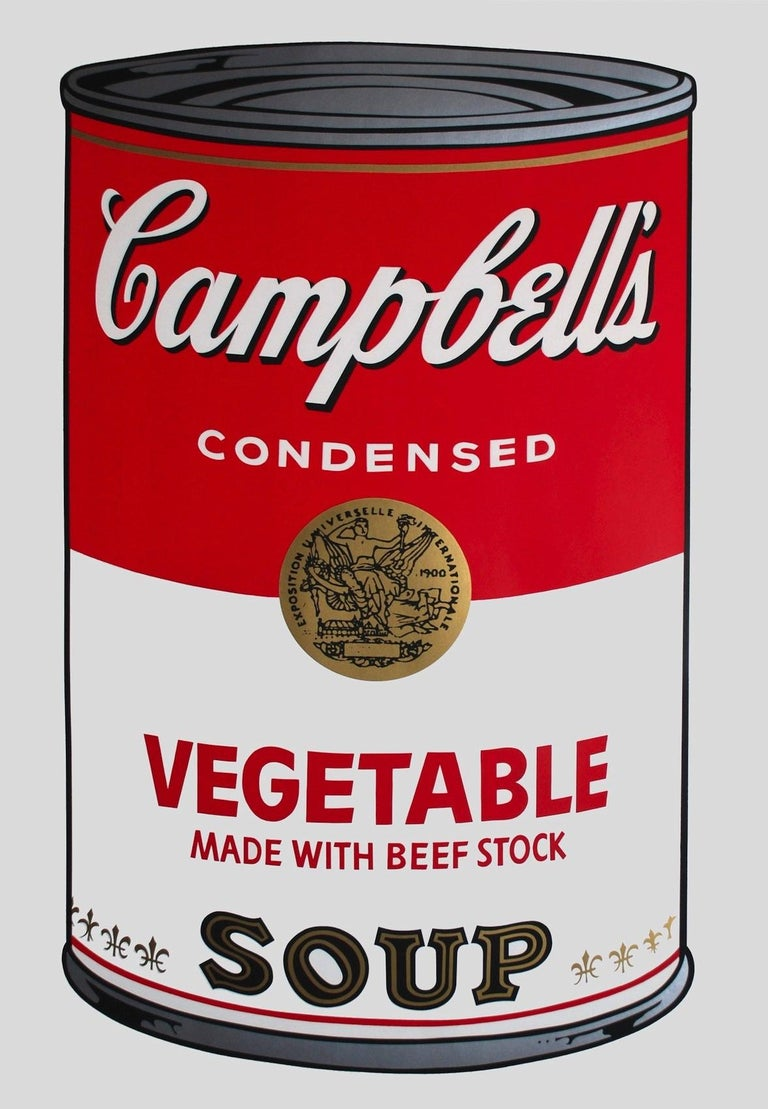 Campbell's Soup: Vegetable (FS II.48) - Print by Andy Warhol