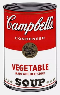Campbell's Soup, Vegetable (Sunday B. Morning)