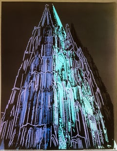Cologne Cathedral (blue), 1985