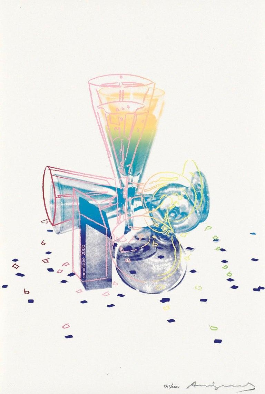 Andy Warhol Landscape Print - Committee 2000 (Feldman & Schellmann II.289)