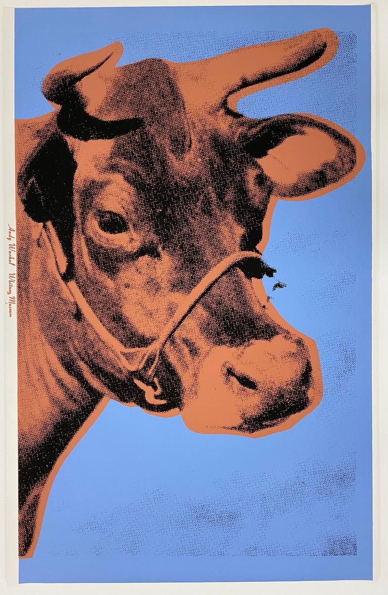 Andy Warhol Animal Print - Cow, 1971