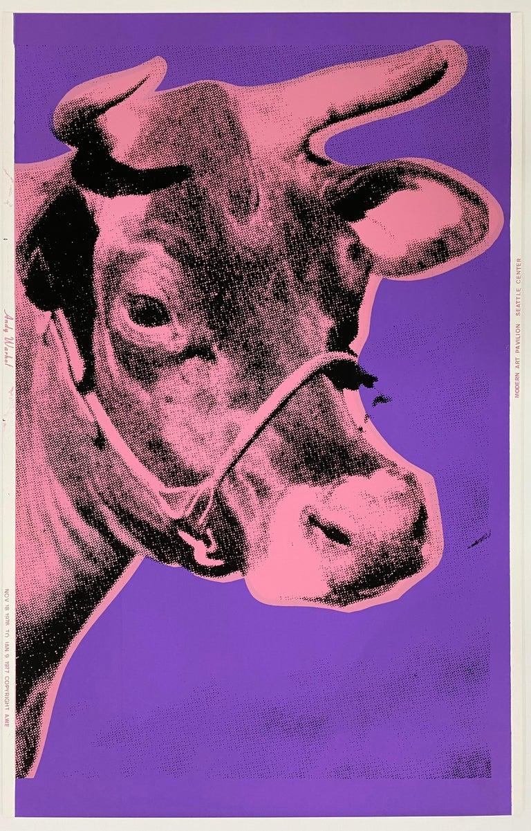 Andy Warhol Animal Print - Cow, 1976