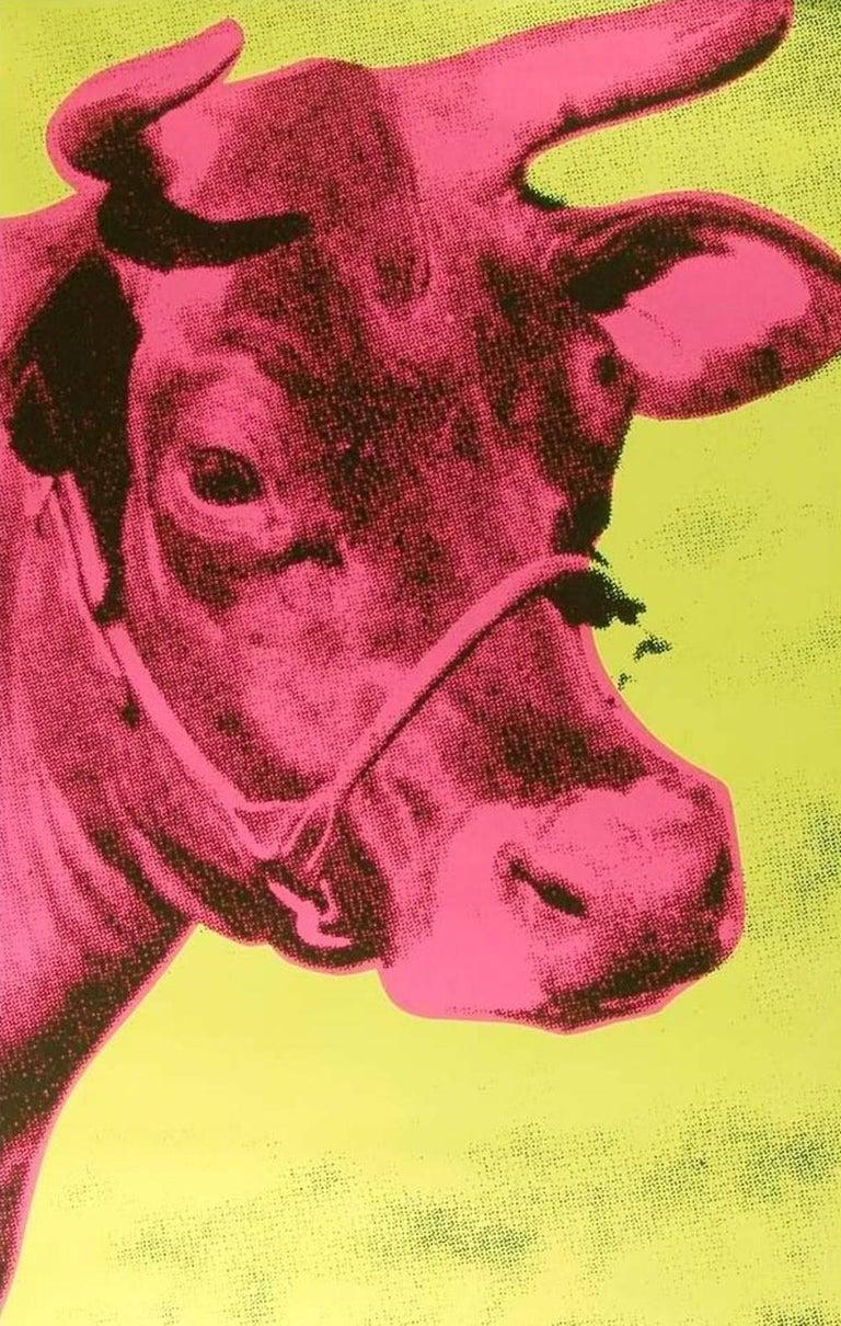 Andy Warhol Animal Print - Cow (FS II.11)