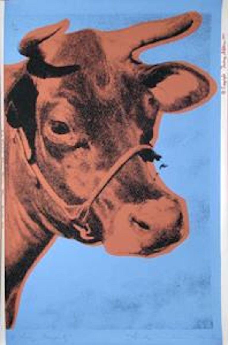 Andy Warhol Animal Print - Cow II.11A