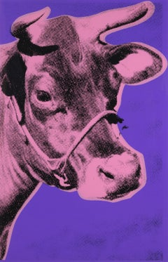 Cow (II.12A Blue Background)